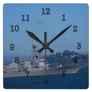 USS Spruance Wall Clock