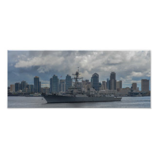 USS Spruance (DDG 111) Poster