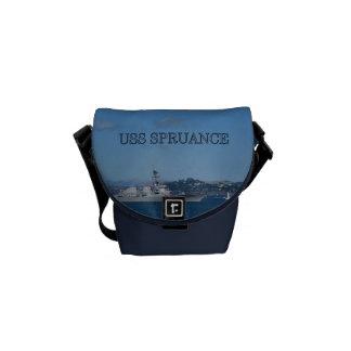 USS Spruance Messenger Bag