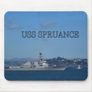 USS Spruance Mouse Pad
