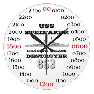 USS Steinaker (DD/DDR/DD-863) Large Clock