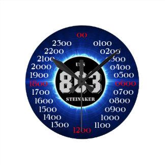 USS Steinaker (DD/DDR/DD-863) Round Clock