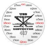 USS Sterett (DD-407) Wall Clock