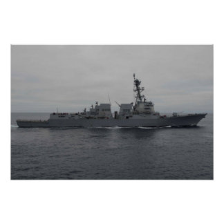 USS Sterett (DDG 104) Póster
