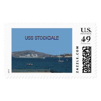USS Stockdale Postage