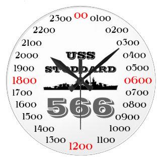 USS Stoddard (DD-566) Large Clock