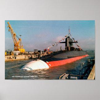 USS STONEWALL JACKSON POSTER
