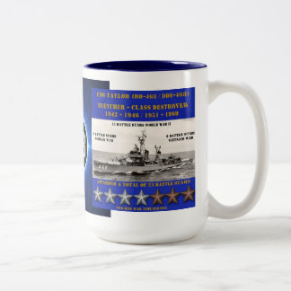 USS TAYLOR (DD-468 / DDE-468) COFFEE MUG