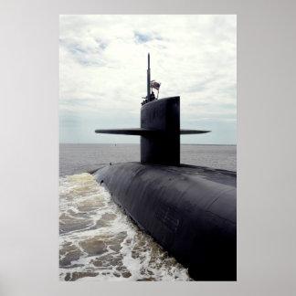 USS Tennessee (SSBN 734) Póster