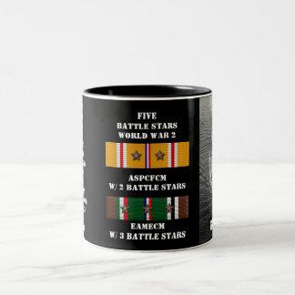 USS TEXAS (BB-35) COFFEE MUGS