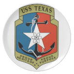 USS Texas (CGN 39) Plates
