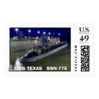 USS TEXAS   SSN-775 POSTAGE STAMPS