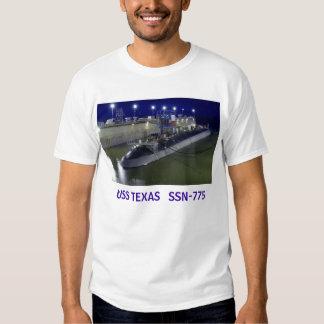 USS TEXAS   SSN-775 Submarine T Shirt