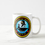 USS Theodore Roosevelt CVN-71 Classic White Coffee Mug