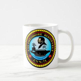 USS Theodore Roosevelt CVN-71 Coffee Mug