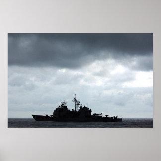 USS Thomas S. Gates (CG 51) Posters