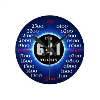 USS Tillman (DD-641) Round Clock