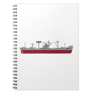 USS Tracer Silhouette AGR-15 Color Notebook