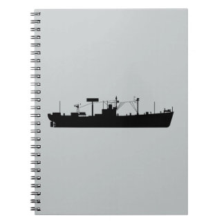 USS Tracer Silhouette AGR-15 Notebook