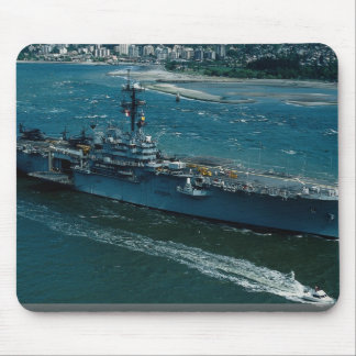 """USS Tripoli"""", LPH 10 Helicopter assault ship Mouse Pad"""