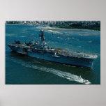 """USS Tripoli"""", nave de asalto del helicóptero de LP Posters"""