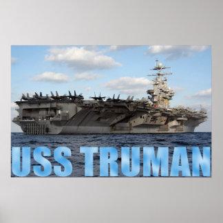 USS Truman Print