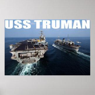 USS Truman Posters