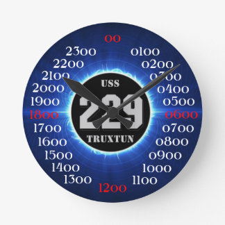 USS Truxtun (DD-229) Round Clock