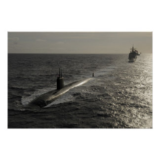 USS Tucson SSN 770 Posters