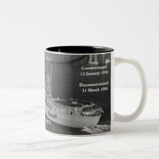 USS TULARE (AKA / LKA-112) COFFEE MUGS