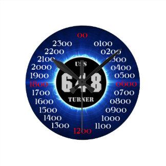USS Turner  (DD-648) Round Clock