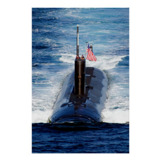 USS Tuscon (SSN 770) Poster