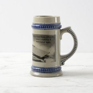 USS UNITED STATES (CVA-58) COFFEE MUG