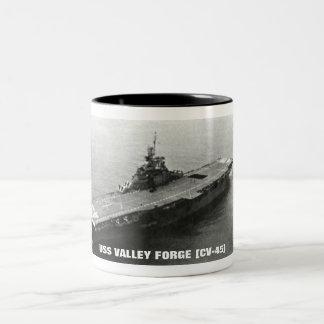 USS VALLEY FORGE CV-45 COFFEE MUGS