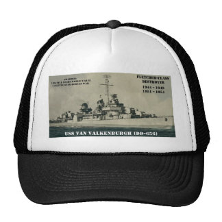 USS Van Valkenburgh (DD-656) Gorro