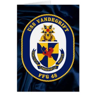 USS Vandergrift Greeting Card