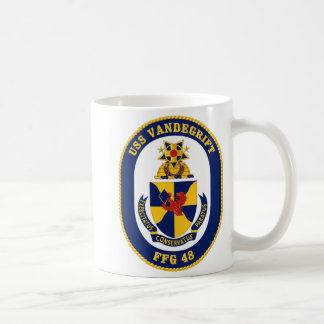 USS Vandergrift Classic White Coffee Mug