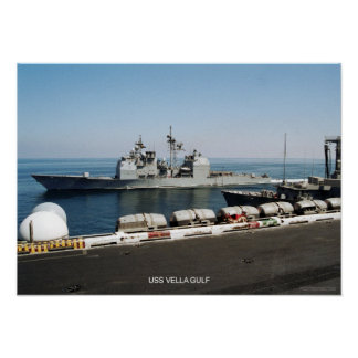 USS Vella Gulf Poster