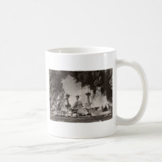 USS Virginia Occidental en el Pearl Harbor Tazas