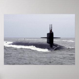 USS Virginia Occidental (SSBN 736) Póster