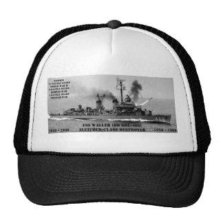 USS Waller (DD/DDE-466) Hats