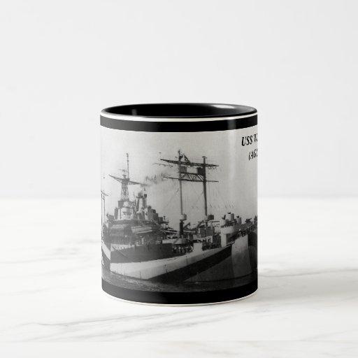 USS WASATCH (AGC-9) COFFEE MUG