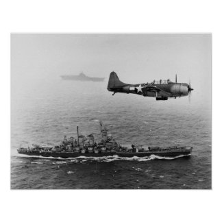 USS Washington Poster
