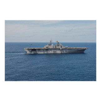 USS Wasp (LHD 1) Poster