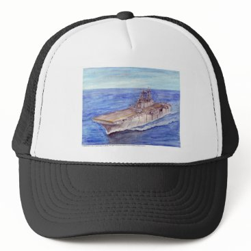 USS WASP TRUCKER HAT