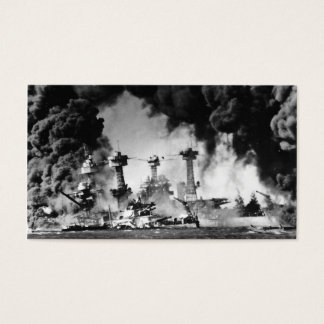 USS West Virginia at Pearl Harbor Business Card