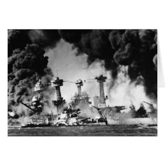 USS West Virginia at Pearl Harbor Card