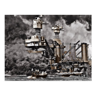USS West Virginia Postcard