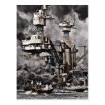 USS West Virginia Postcard