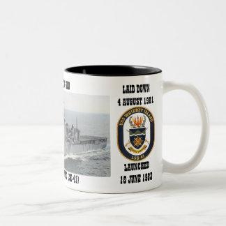 USS WHIDBEY ISLAND LSD-41 MUG